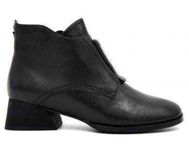 Ботинки на среднем каблуке 80-1-80 - фото