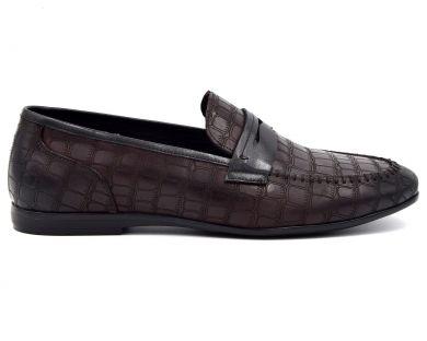 Туфли лоферы 0709-9 - фото