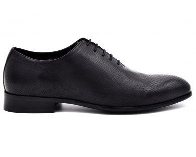 Туфлі на шнурках класичні 1752-17 - фото
