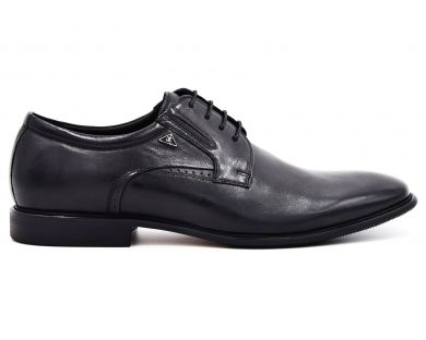 Туфлі на шнурках класичні 01-32-07 - фото