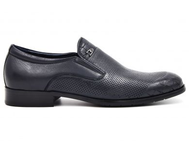 Туфли классические без шнурка 677-627-3 - фото