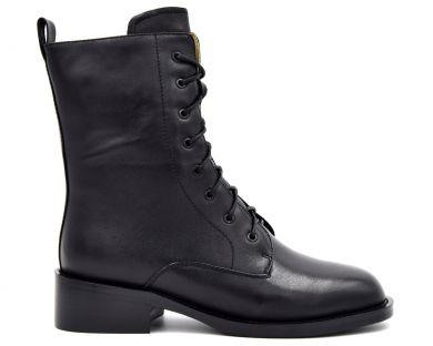 Ботинки высокие на шнуровке 025-3945 - фото