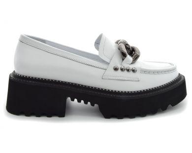 Туфлі на товстій підошві 908-156 - фото