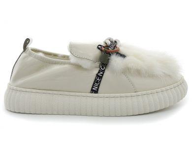 Туфлі на хутрі 20856-6-2 - фото