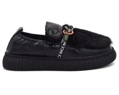 Туфлі на хутрі 20856-6-1 - фото
