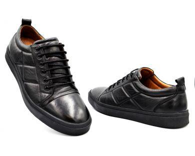 Туфлі на шнурках класичні 1114-03 А - фото