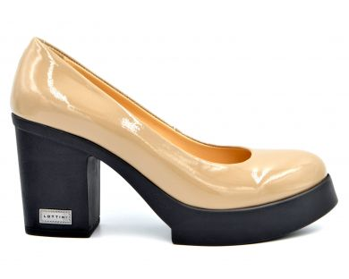 Туфли на каблуке 22-1150 - фото