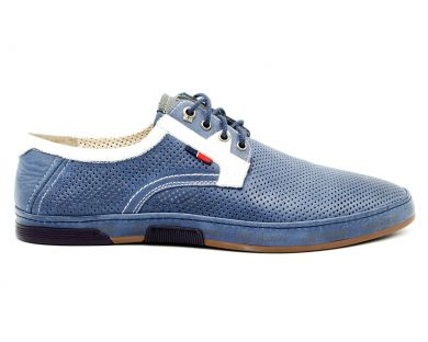 Перфоровані туфлі 2531-0810 - фото
